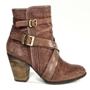 Vince Camuto Hailey Ankle Booties Leather Boot 7.5